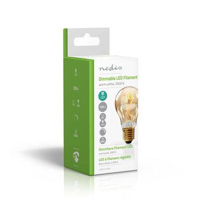 Dimbare vintage LED-gloeilamp E27   A60   3 W   100 lm