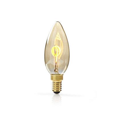 Dimbare vintage LED-gloeilamp E14   Kaars   3 W   100 lm