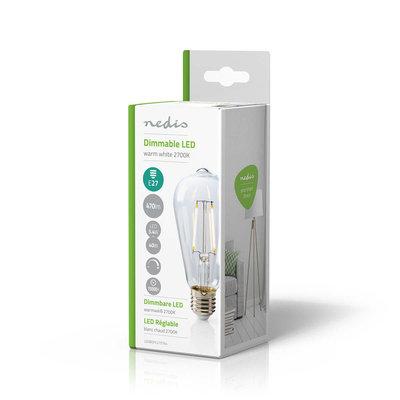 Retro LED-gloeilamp E27   ST64   5,1 W   470 lm