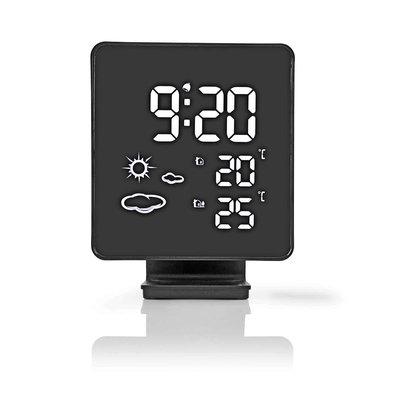 Weerstation | Draadloze sensor | Alarmklok | Weersvoorspelling
