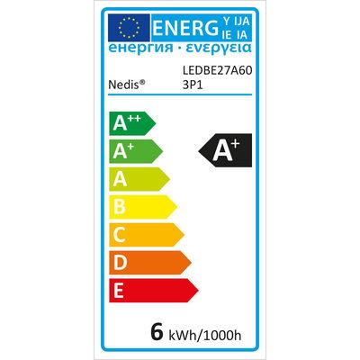 LED-Lamp E27   A60   5,7 W   470 lm   3-Pack