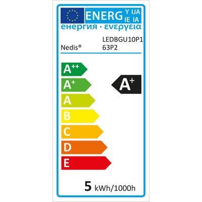 LED-Lamp GU10   Par 16   4,6 W   345 lm   3-Pack