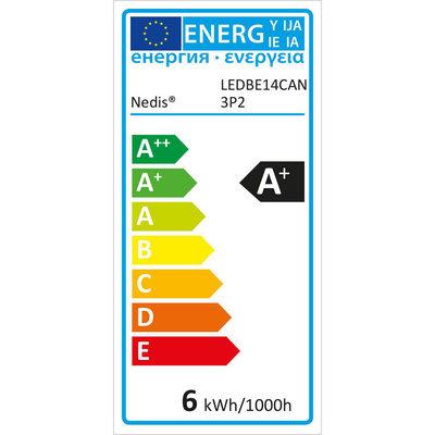 LED-Lamp E14   Kaars   5,8 W   470 lm - 3 pack