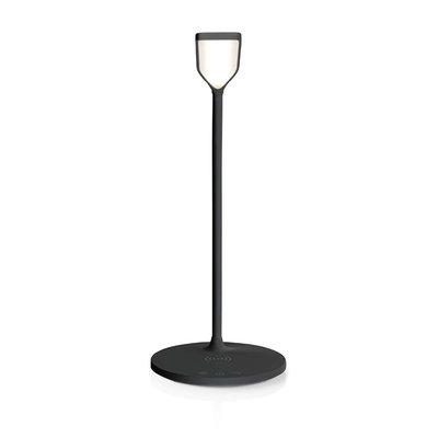 LED-tafellamp met touch-control | Draadloze Qi oplader | 1,0 A | 5 W | Zwart
