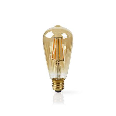 Slimme Wi-Fi-LED-lamp Met Filament   E27   ST64   5 W   500 lm