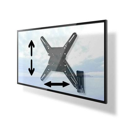 Draaibare- en in hoogte verstelbare TV-muurbeugel   29 - 55