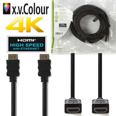 1 meter High Speed HDMI™-kabel met Ethernet | HDMI™-connector - HDMI™-connector