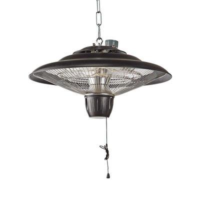 Design metalen patioverwarming   Met plafondmontage dmv solide ketting  2000 W   IP24