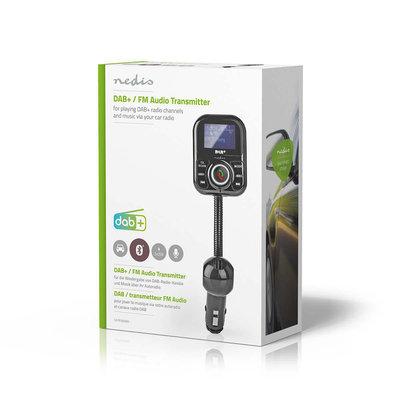 DAB+/FM-zender voor de Auto   Bluetooth®   microSD-kaartslot   Handsfree Bellen   2x USB