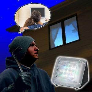 TV Simulator  Ingebouwde timer   Zwart