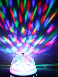 LED Discolamp E27, 30kleuren
